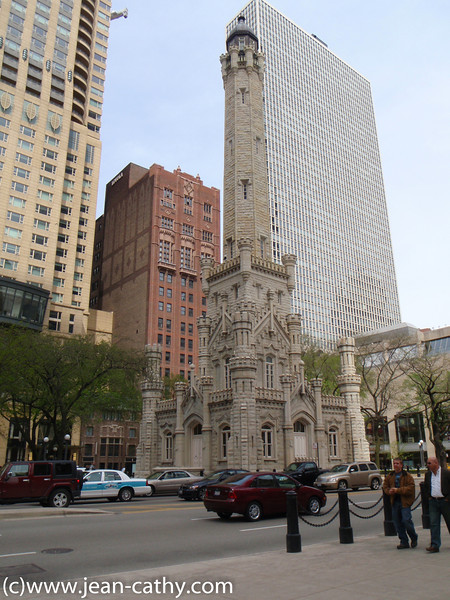 Old Water Tower in Chicago