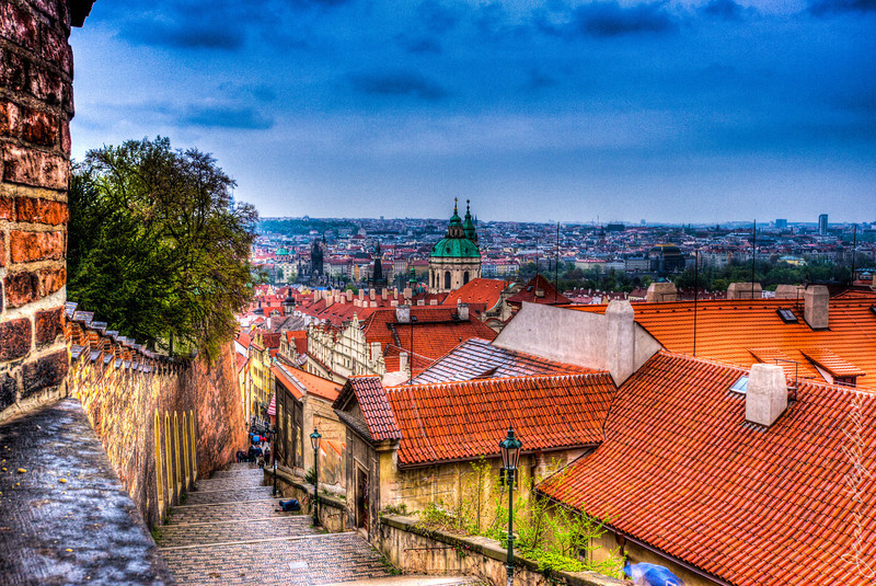 Prague from the Castle grounds