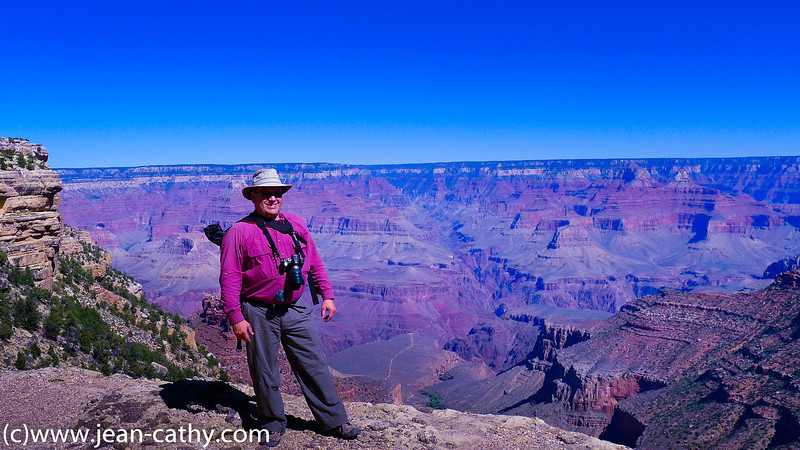Jean in Grand Canyon