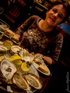 Oysters at Whalebone in Ottawa