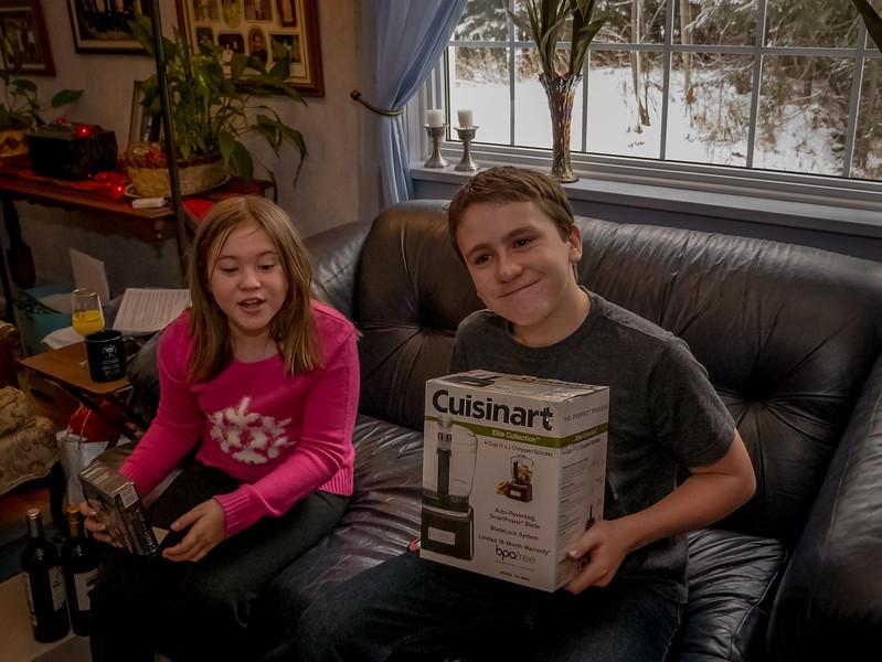 Caleb showing enthousiasm ;)