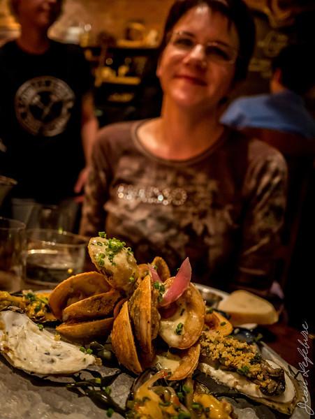 Seafood platter at Whalesbone, Ottawa