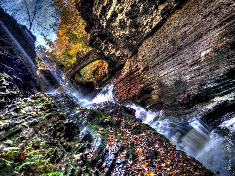 Falls in Watkins Glen State Park